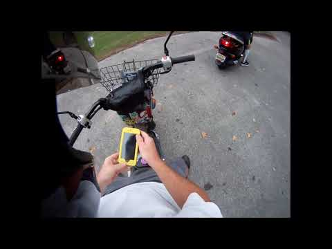 2017 Oct  9 Scooter ride thru Veterans Park and Lakeside Highlands