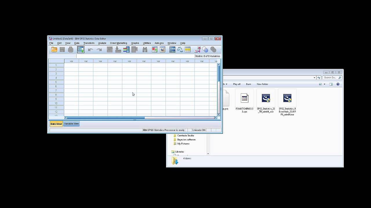 Propensity score matching in SPSS in ~5 mins - YouTube