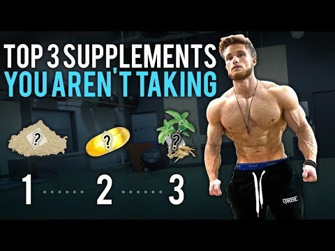 3 Supplements You Aren't Taking BUT Should Be! (Not Sponsored*)