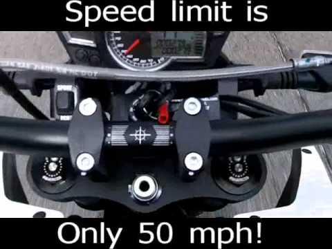 2012 Zero 100% Electric motorcycle quick ride