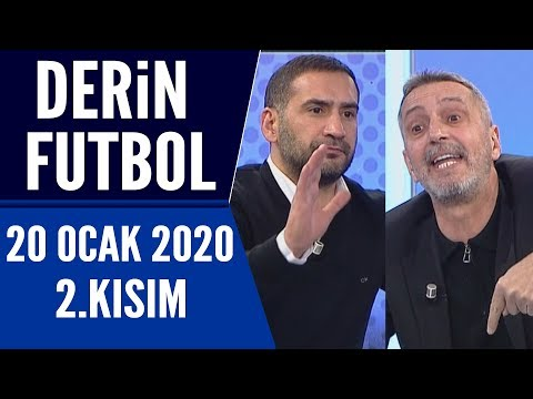 Derin Futbol 20 Ocak 2020 Kısım 2/3 - Beyaz TV