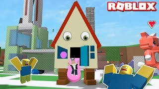 We Became monster homes and chased people!! Roblox Book of Monsters with Panda