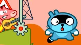 МАЛЫШ Панго Осенняя пора ИСПУГАЛСЯ на качели Мультики Игры для детей Pango Storytime