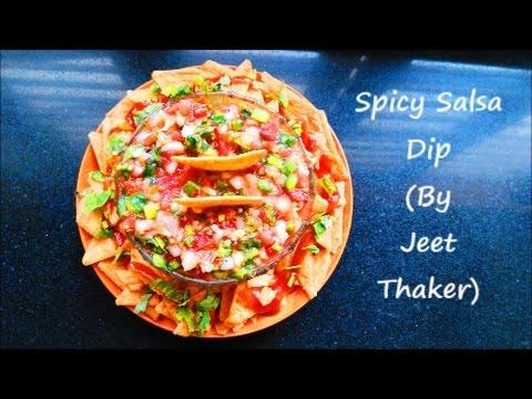 Spicy Salsa Dip Recipe | Mexican Cuisine | Jeet Thaker