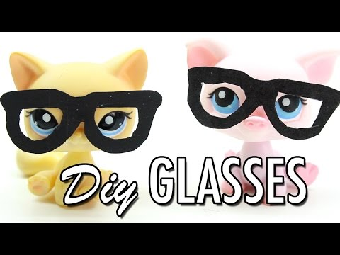 LPS - DIY Miniature Glasses