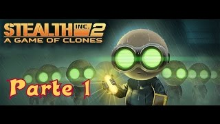 Stealth Inc 2: A game of clones / PlayStation 4 / gameplay in italiano / parte 1