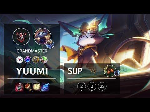 Yuumi Support vs Nautilus - KR Grandmaster Patch 10.5