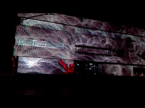 Glow 2016 1(3),  3D presentatie Eindhoven stadhuis, 13/11/2016