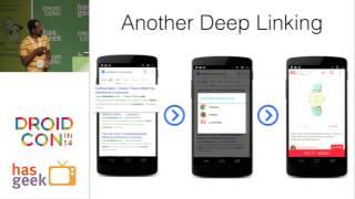 Mobile Deep linking