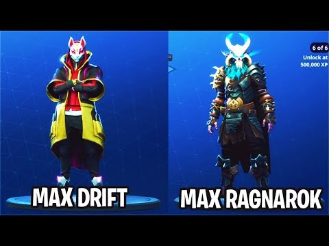SECRETS to UNLOCK MAX DRIFT + MAX RAGNAROK FAST! How to LEVEL UP FAST FORTNITE!