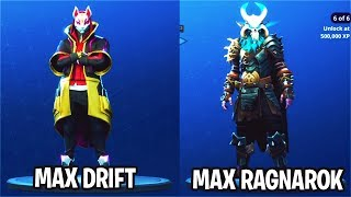 How to LEVEL UP FAST in Fortnite! SECRETS to Unlock Max Ragnarok, Max Drift FAST(Fortnite Tips)