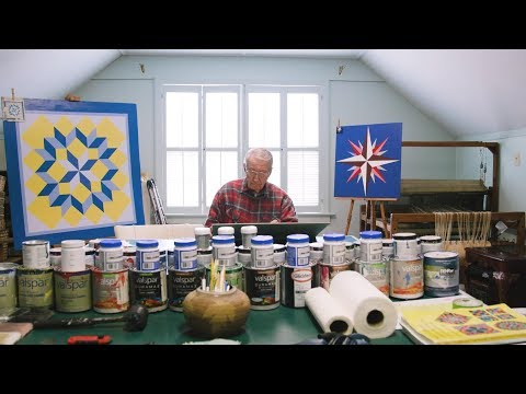 """Painting Quilt Squares Brings This 94-Year-Old """"Real Joy"""" 