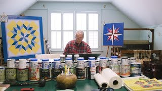 Painting Quilt Squares Brings This 94-Year-Old