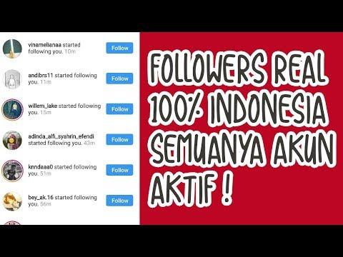 Cara Memperbanyak Followers Instagram REAL Akun Aktif 100% Indonesia