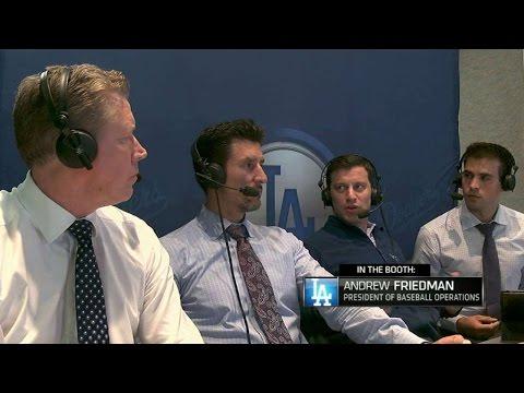 LAD@SD: Friedman discusses Dodgers' success