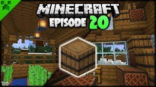 Minecraft Barrel Storage & Farm Hut | Python's World (Minecraft Survival Let's Play S2) | Episode 20