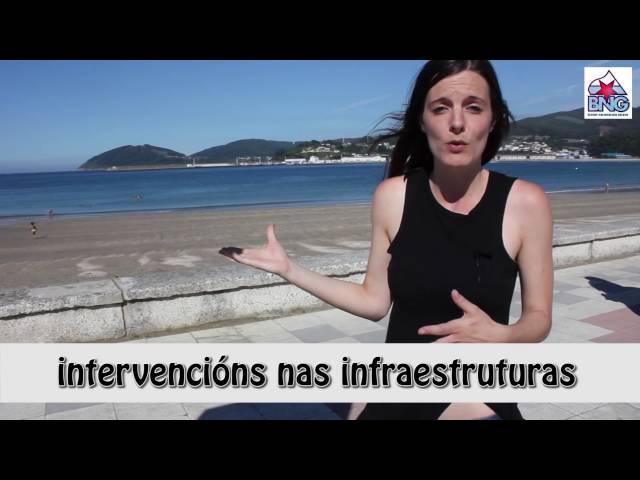 (27-8-2016) Destrución da praia de Covas en Viveiro