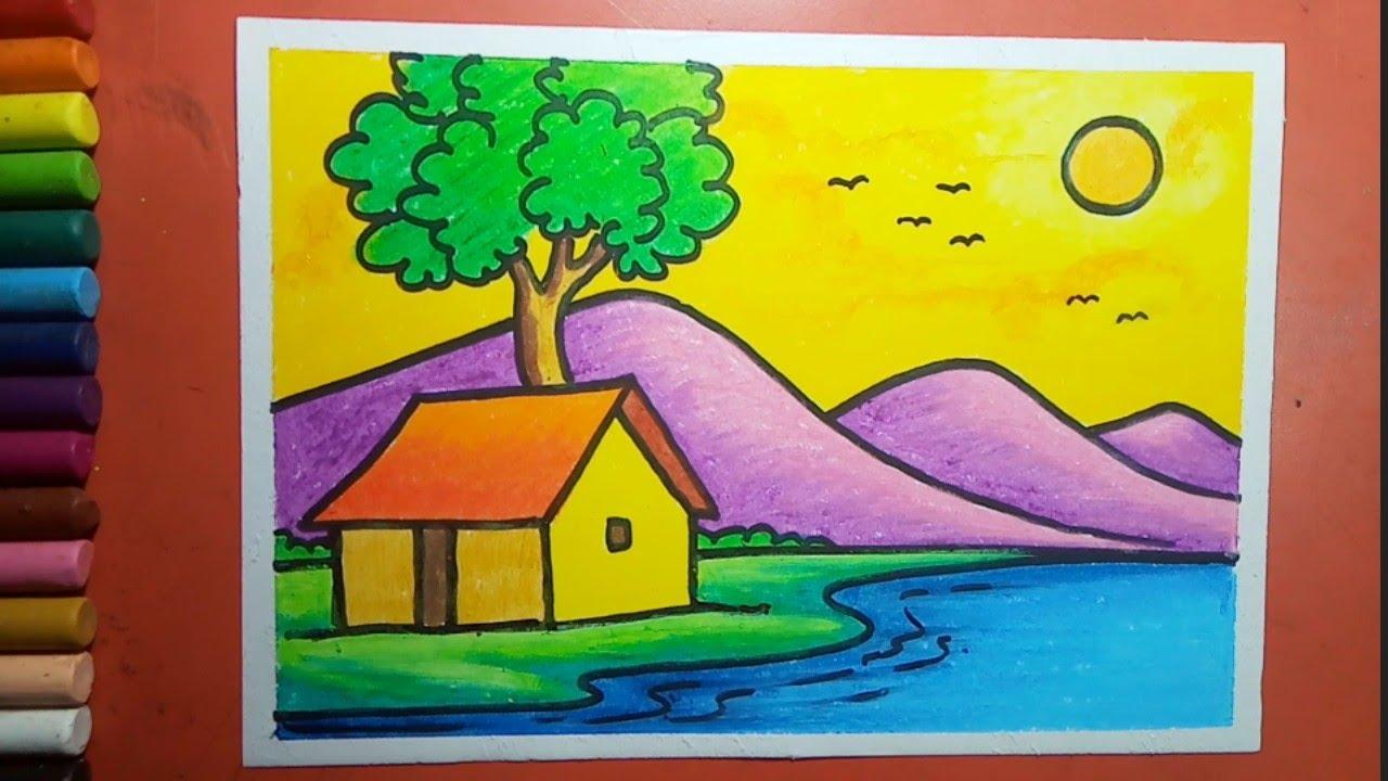 Simple Landscape Drawing