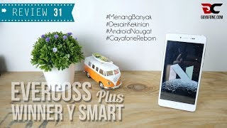 Video REVIEW EVERCOSS WINNER Y SMART PLUS, Ponsel Android Nougat Murah, Desain Layar Waah!! download MP3, 3GP, MP4, WEBM, AVI, FLV Oktober 2018
