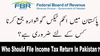 who-should-file-fbr-income-tax-return-in-pakistan