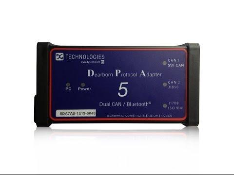 DPA5 Dearborn Protocol Adapter 5 Heavy Duty Truck Scanner