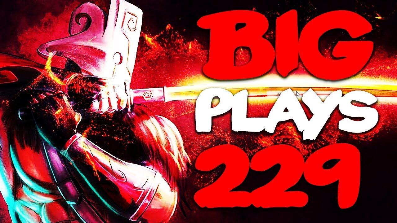 Dota 2 - Big Plays Moments - Ep. 229