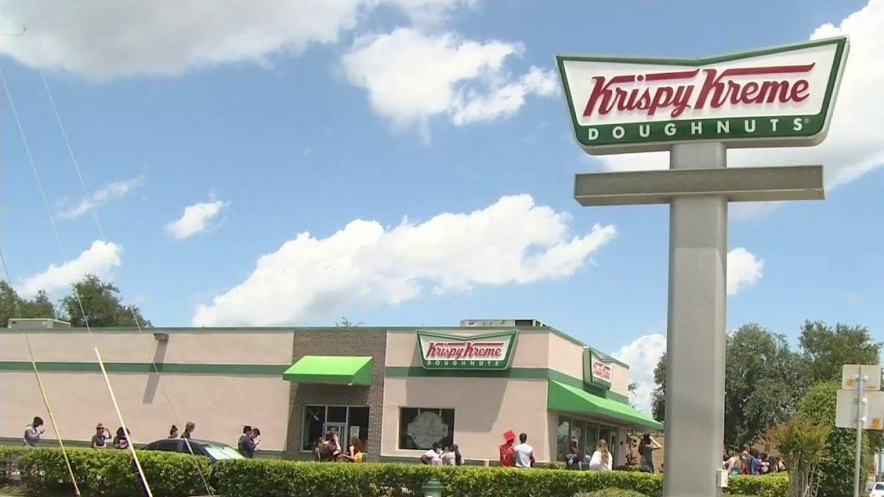 Free dozen from Krispy Kreme on Thursday for high school seniors