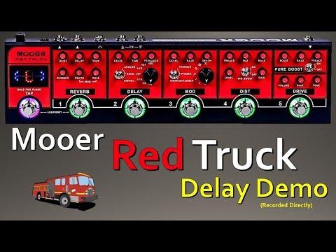 Mooer Red Truck - Delay Demo