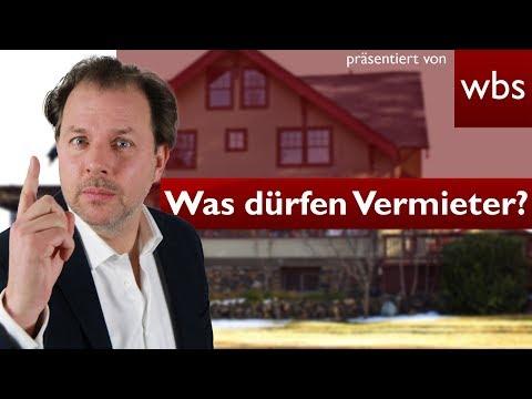 10 Dinge, Die Euer Vermieter Nicht Darf, Aber Trotzdem Macht!   Rechtsanwalt Christian Solmecke