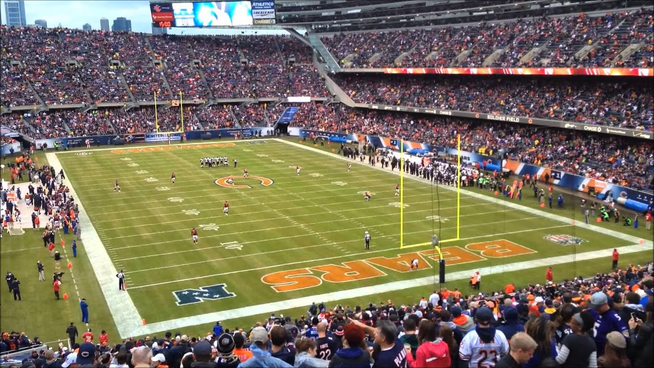 Jay Cutler Hd Wallpaper Bears 23 Ravens 20 Soldier Field Evacuation Longest Game
