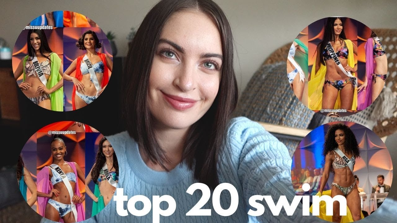 TOP 20 SWIMSUIT | Miss Universe 2019 Preliminary