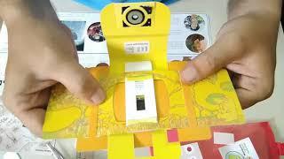 Trải nghiệm kính hiển vi bỏ túi Foldscope - Kính hiển vi giấy - Tiêu Tú Linh