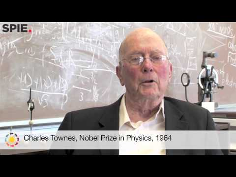 Charles Townes offers his support to the International Year of Light