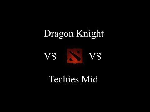 Mid Dragon Knight? No Prob. Techies On The Move!
