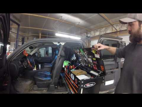 Tool box build mobile welding rig