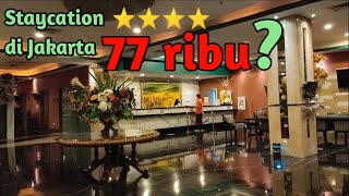 STAYCATION DI JAKARTA 77 RIBU ROYAL PALM HOTEL CONFERENCE CENTER REVIEW HOTEL VLOG37