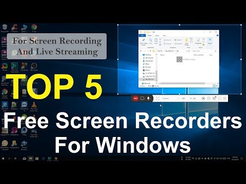 Top 5 FREE Screen Recorders For Windows (Live Streaming Softwares)