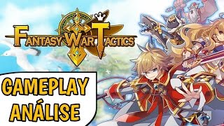 Fantasy War Tactics vale a pena jogar? MELHOR RPG TÁTICO