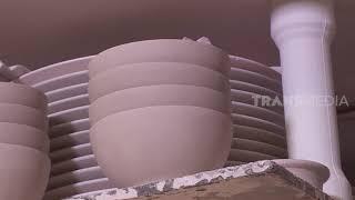 Pabrik Pembuatan Mangkuk Keramik | SI UNYIL (27/01/20) PART 3