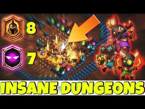Rowdy Rascals | INSANE DUNGEONS | 7 Unholy Pact - 8 WG | CASTLE CLASH