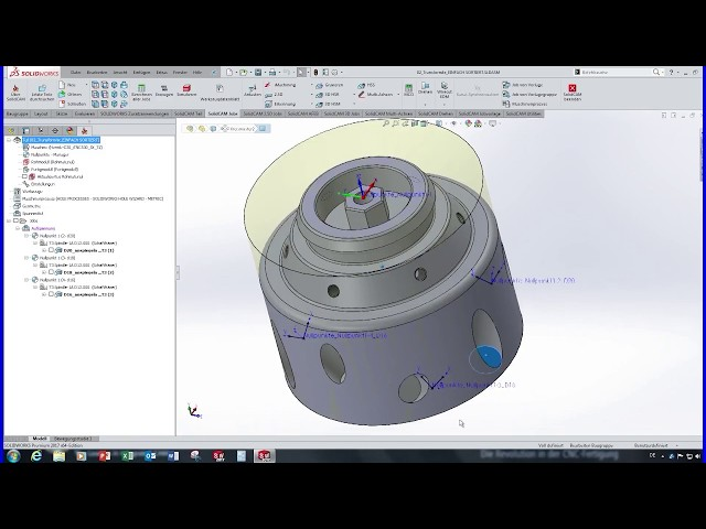 SolidCAM 2017 - Transformieren
