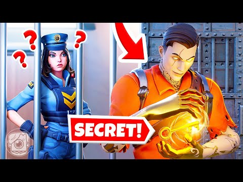 EXTREME Prison Escape: SKYE vs. MIDAS! (Fortnite Cops & Robbers)
