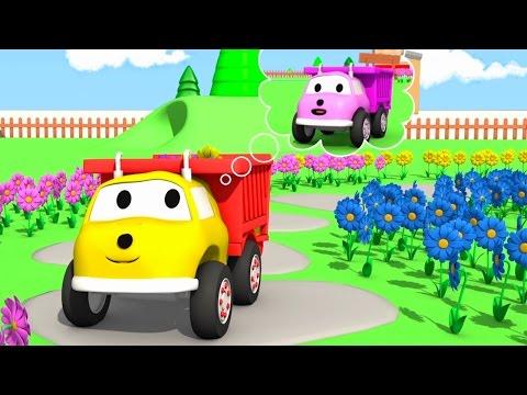 Игорь собирает цветы и учит цвета - учим цвета вместе с грузовичком Игорем