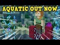Minecraft Xbox / PE 1.5 OUT NOW - ALL Aquatic Update NEW Features
