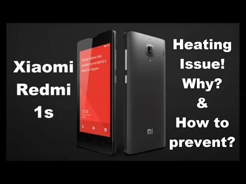 Xiaomi Redmi 1S Heating - How-to prevent?