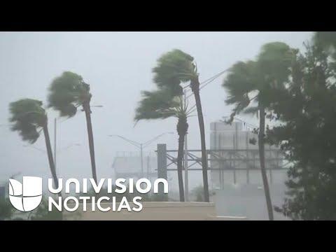 En vivo: El paso del huracán Irma por Naples, Florida