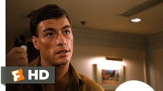 Bloodsport (6/9) Movie CLIP - A Quarter Trick (1988) HD