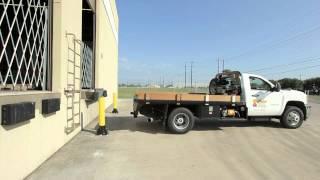 Slowstop Bollard Loading Dock Protection