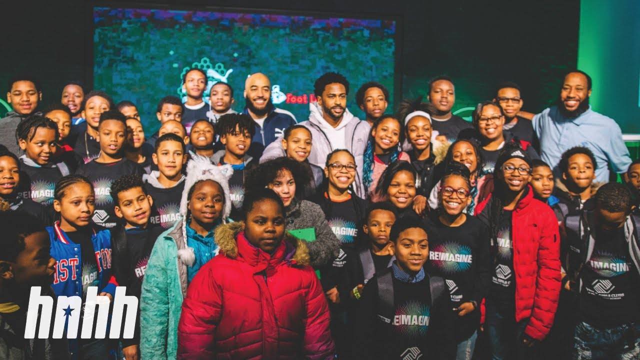 Image result for Big Sean Donates a New $10,000 Studio to the Boys & Girls Club of Detroit