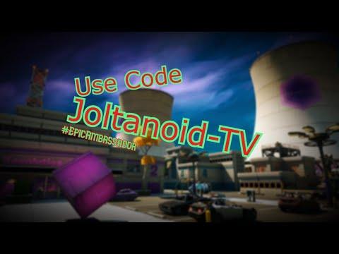 Code: Joltanoid-TV #EpicAmbassador
